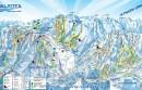 Mléčná dráha - Sestriére (Piemont)
