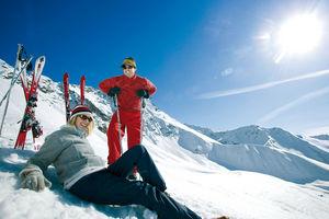 Fendels - lyžování v Rakousku